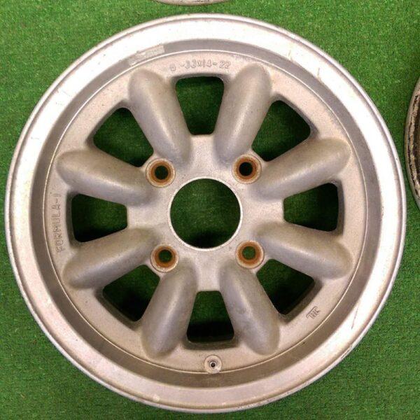 PANASPORT FORMULA-1 14x6j +22 4x130 CB:81 x4 for VW Beetle /Bug / karmann ghia