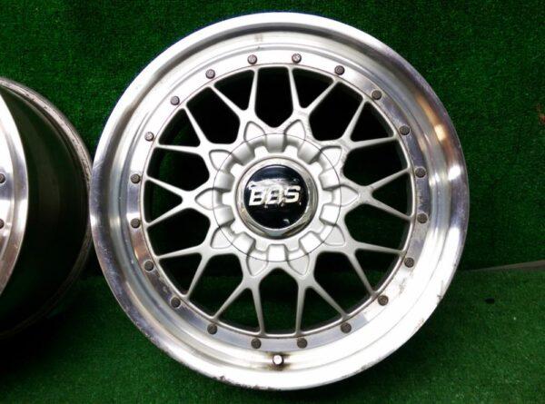 BBS RS / RSII RS023 / RS024  2 piece 17x8j / 17x9j +45 5x114.3 CB:60 x4
