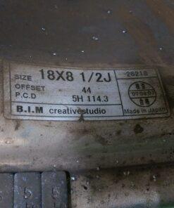BRIDGESTONE BIM KAISER 18x8.5j +44 5x114.3 CB:73 x4