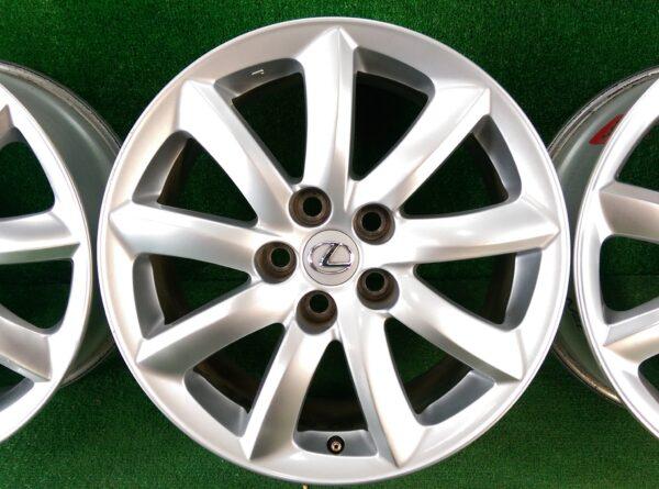 Clearance Sale! LEXUS LS460 / LS600h OEM Hyper Silver 18x7.5j +32 5x120 CB:60 x4