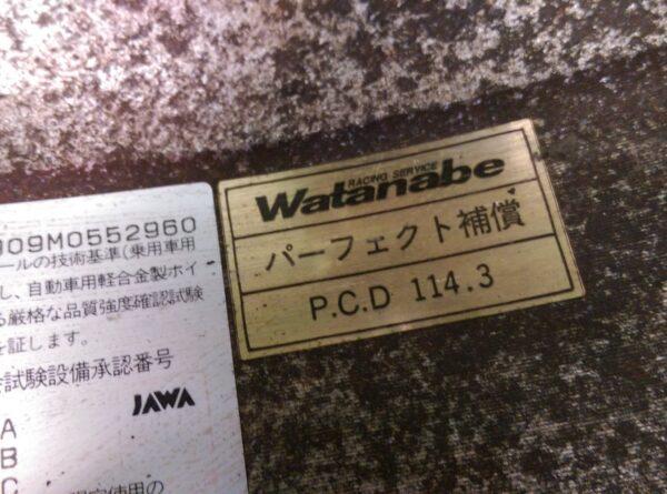 RS WATANABE F8 8 Spoke 16x7j +30 / 16x8j +35 5x114.3 CB:70 x4