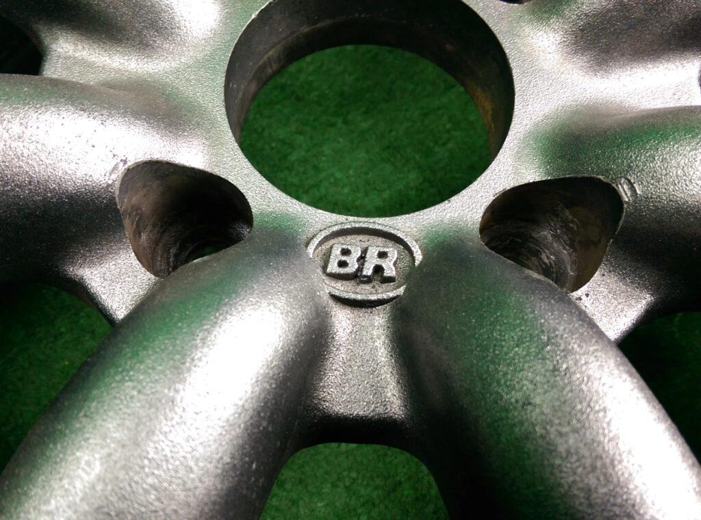 BR / BLACK RACING 8 Spoke 16x7j +30 4x114.3 CB:73 x2