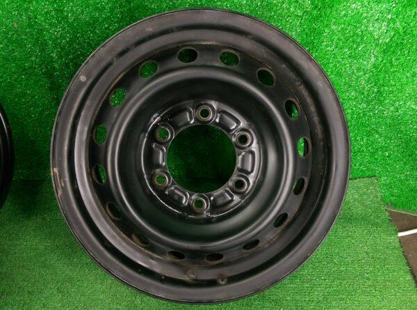 Non-Alloy steel wheels 15x6j +35 6x139.7 CB:106 x1