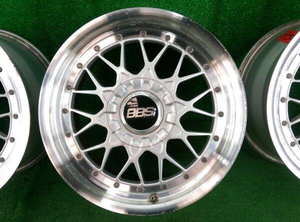BBS RS / RS-II RS025 / RS026 2 piece  17x8j  / 17x9j +35 5x114.3 CB:64 x4