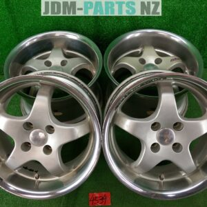 4x100 9j !! SEIKEN NKB POWER CUP WHEEL 15x8j +35 / 15x9j +30 4x100 CB:73 x4