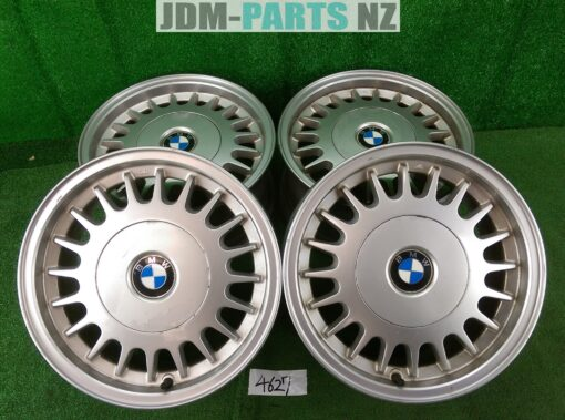 BMW Style 2 E34 FACTORY Alloy 15x7j +20 5x120 CB:72 x4» JDM-PARTS.co.nz