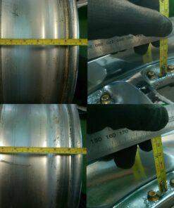 RIVERSIDE ALTSTADT- 1  3 piece 18x8j / 18x9j +35 5x114.3 CB:73 x4