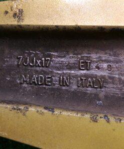 SPEEDLINE CHAMP-R  ITALY 17x7j +48 5x100 CB:56 x4