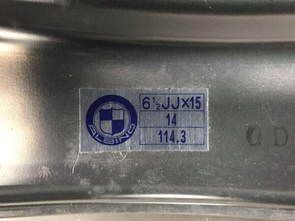 WEDS ALBINO FORGED 3piece As New 15x6.5j +14 4x114.3 CB:72 x1