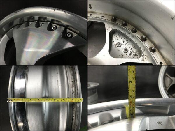 ENKEI CARVING PROUD CONNECTION 3piece 18x8j +43 5x114.3 CB:73 x4