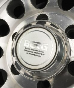 BRIDGESTONE BERG D Type 3 piece With Center Caps 15X8.5J -33 6x139.7 CB:108 x4