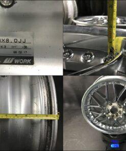 WORK VS-MX  MESH / VS MX  3 piece 18x7j / 18x8j +38 4x114.3 / 5x114.3 CB:73 x4