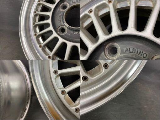 WEDS ALBINO FINS FORGED 3 piece 14x6j +17 4x114.3 CB:72 x2» JDM-PARTS.co.nz