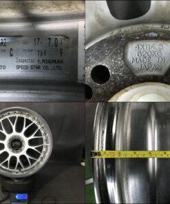 SSR VARDEN SPORT SCHWARZ 3 piece DDC Lips 17x7j +36 4x114.3 / 5x114.3 CB:74 x4