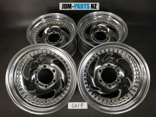 RAYS NP SONIC 3 piece 16x8j -4 6x139.7 CB:112 x4» JDM-PARTS.co.nz