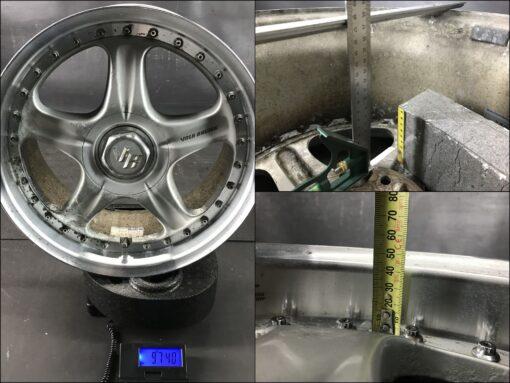 RAYS VOLK RACING GROUP AV 2 piece 17x8j +44  / 17x9j +44 5x114.3 CB:73 x4» JDM-PARTS.co.nz
