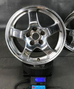 SKYLINE GT-R BNR32 R32 FORGED Polished 16x8j +30 5x114.3 CB:67 x4