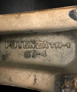 BRIDGESTONE POTENZA TR-1  / ZONA STAGE 4     3 piece 14×6j +15 4x114.3 CB:78 x4