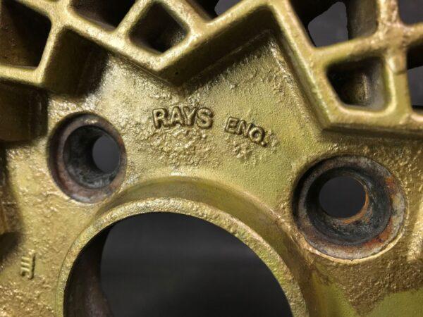RAYS VOLK MESH 3 piece 14x6j +25 / 14x6.5j +18 4x110 CB:73 x4 For SA22C RX-7 etc
