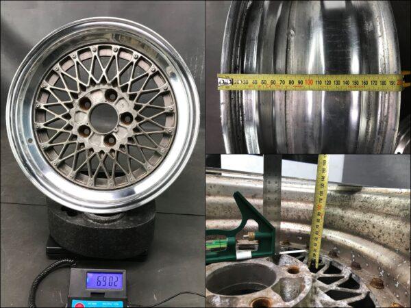 WORK EWING COMPETITION 3piece 6.9kg 7.1Kg 16x7j +7 / 16x7.5j +5 5x114.3 CB:73 x4