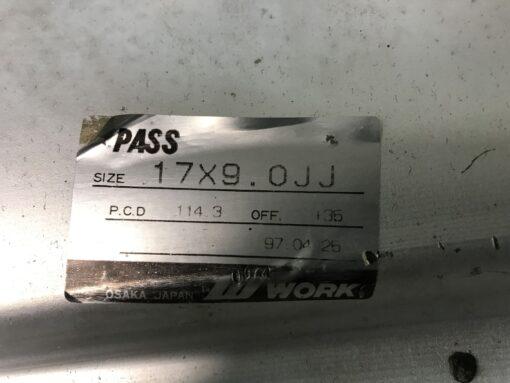 WORK VS Mesh 3 piece 17x9j +35 4x14.3 / 5x114.3 CB:73 x2» JDM-PARTS.co.nz
