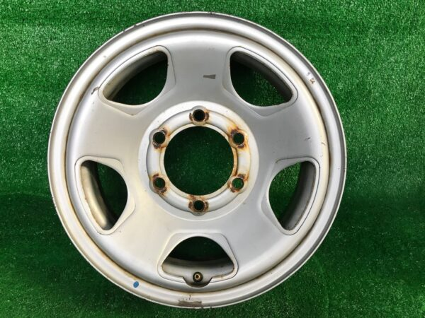 Non-Alloy steel wheels 15x6j +30 6x139.7 CB:107 x4