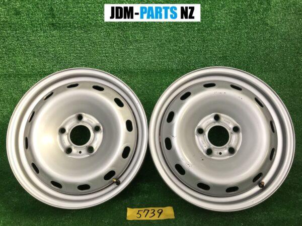 Non-Alloy steel wheels 16x6j +50 5x114.3 CB:66 x2