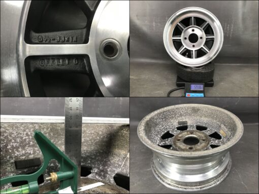 HAYASHI RACING STREET wL 14x6.5j +0 / 14x7j +7 4x114.3 CB:73 x4» JDM-PARTS.co.nz