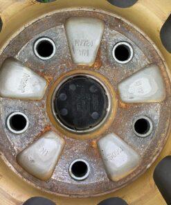 BBS RV724 SUBARU WRX GDB STI GOLD FORGED 17x8j +53 5x114.3 CB:56 x4