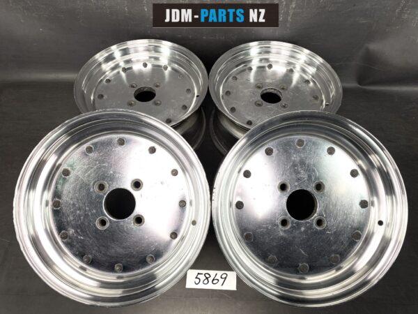 SSR SPEED STAR MK1 / MK-1 3 piece 15x7j +24 4x114.3 CB:72 x4
