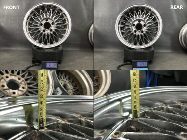 SSR Racing Hart Takechi Project Super Mesh 15x6.5j +9 / 7j +15 5x114.3 CB:73 x4