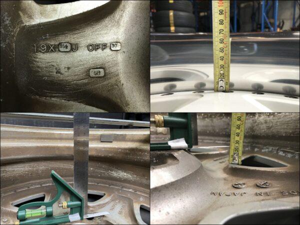 ENKEI AUTOCOUTURE MAGNIFIQUE 2 piece 19x8.5j +31 / 19x9.5j +30 5x114.3 CB:72 x4