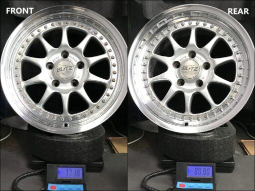 BLITZ RACING BRW-01 / BRW01 2 piece 16x7j / 16x8j +32 5x114.3 CB:73 x4