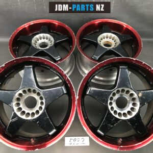 CRIMSON Inc. RACING SPARCO 2 piece 16x7j +37 / 16x8j +32  5x114.3 CB:73 x4