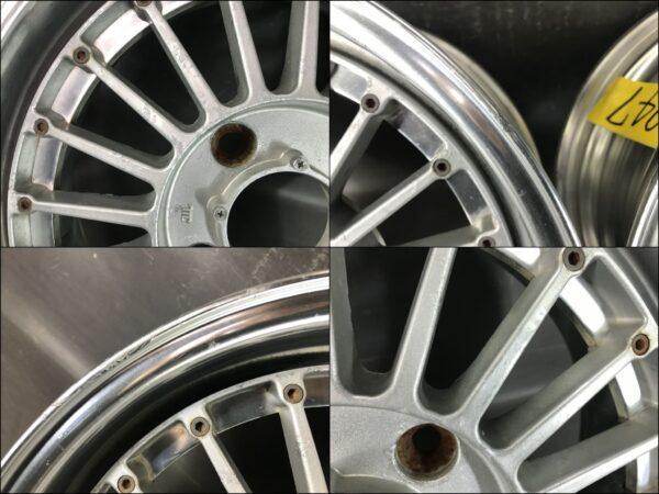 SSR HART Racing  Fin's 3 piece  15x6.5j +19 4x114.3 CB:73 x2