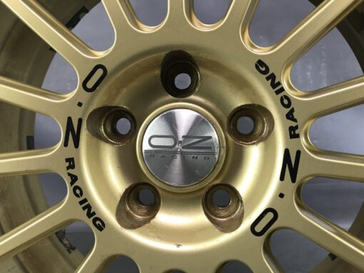 OZ RACING SUPERTURISMO 17x7j +48 5x100 CB:52 x4» JDM-PARTS.co.nz