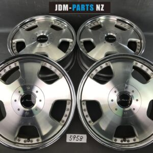 SSR SPEED STAR VIENNA D 3 piece 18x7.5j +43 4x114.3 / 5x114.3 CB:70 x4
