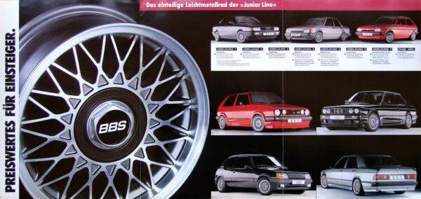 BBS Junior Line RJ VW GOLF GTI BBS RJ358 14x6j +38 4x100 CB:56 x4