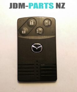 MAZDA Genuine SMART KEY CARD 4 Buttons ( Unlocked ) With New Uncut Blade