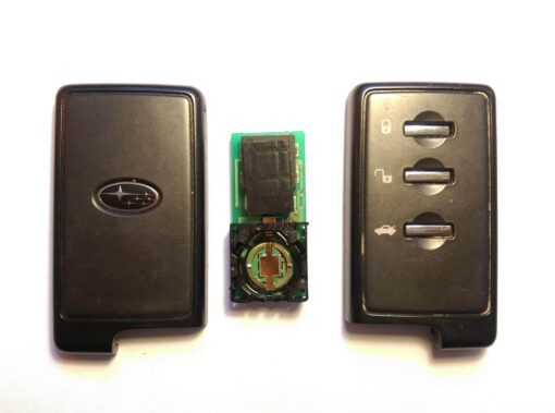 SUBARU Genuine SMART CARD KEY 3 Buttons ( Unlocked ) With New Uncut Blade