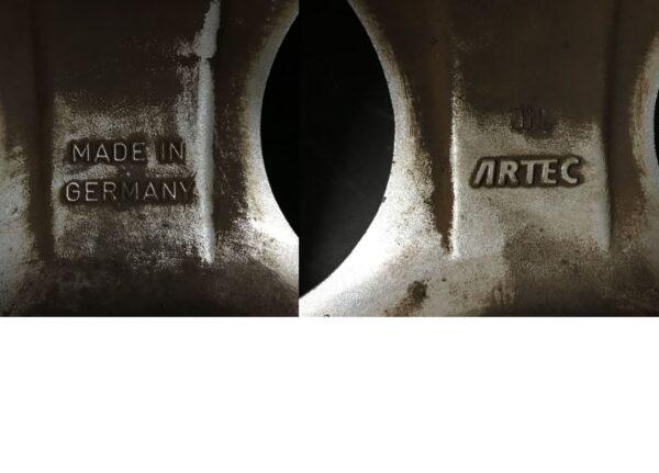 ARTEC CUP / RH ALUFELGEN ARTEC AD 705 GERMANY 15x7j +37 4x100 CB:64 x4