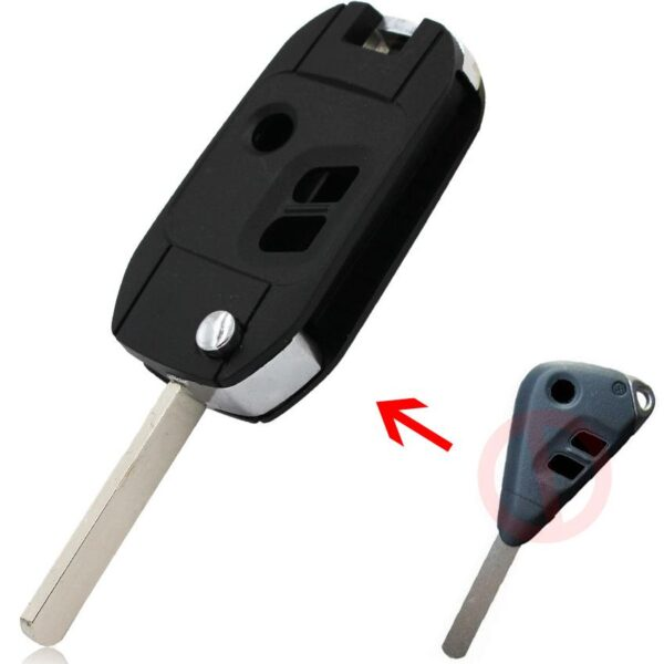 FLIP TYPE KEY SHELL FOR SUBARU 2 Buttons / 3 Buttons  Remote Key