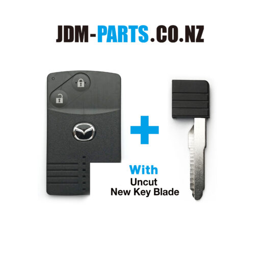 MAZDA Genuine SMART KEY CARD 2Buttons With New Uncut Blade» JDM-PARTS.co.nz