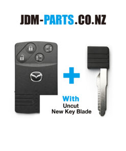 MAZDA Genuine SMART KEY CARD 4Buttons With New Uncut Blade