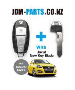 SUZUKI SWIFT Genuine SMART KEY 2 BUTTONS TS007 With New Uncut Blade