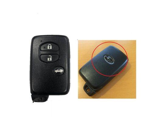 SUBARU Genuine SMART KEY 3 Buttons 271451-5300 DENSO 001YUA 1033 14ADA-02-01