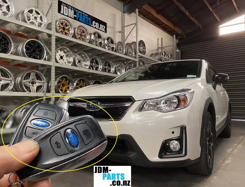 2016 New SUBARU Impreza XV Push start Smart Remote key Duplication coding» JDM-PARTS.co.nz