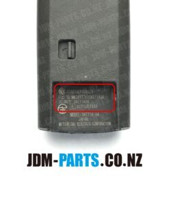 MAZDA Genuine SMART KEY 4 Buttons Sliding Door LR 315 Mhz SKE11A-04 / 007YUUL0310