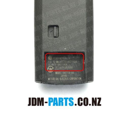 MAZDA Genuine SMART KEY 4 Buttons Sliding Door LR 315 Mhz SKE11A-04 / 007YUUL0310» JDM-PARTS.co.nz