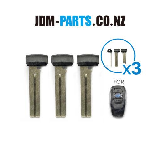 SUBARU SMART KEY Emergency Key Blade TOY48 THIN Single Side x3» JDM-PARTS.co.nz